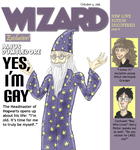 Dumbledore Comes Out by HapyCow