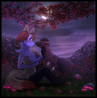 Commission - Midnight Proposal by MiaMaha