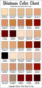 skin color reference by champoorado