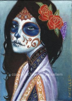 Day of the Dead No 4 by charlesartist