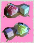 Origami : magic cube by Coqkie