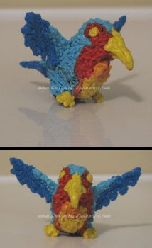 3Doodler: 1.5-Inch Parrot by Kimi-Parks