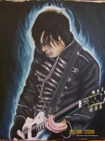 frank iero painting incomplete by roxzey27
