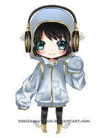 Commission - Nimble Chibi by kimizawa-chan