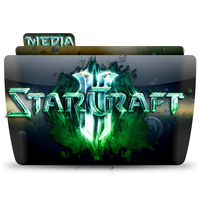 Colorflow Starcraft 2 Media Folder by peshinkovxor