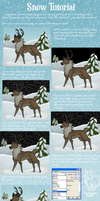 Fast + easy snow on PS by therougecat
