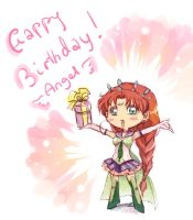 Belated bday wish by unconventionalsenshi