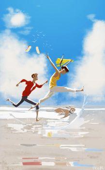 After the rain is gone! by PascalCampion