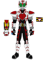 Kamen Rider Ace - Heart Form by The-Rebel-Angel