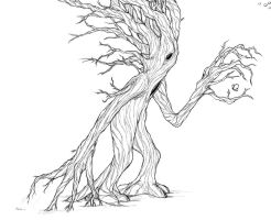Rooted Tree by Inaaca