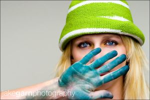 Blue, Blue, Green by jakegarn