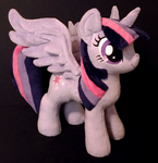 Alicorn Twilight Plush by EquestriaPlush