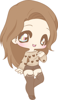 Chibi Commission by phantomcarnival by cupcakecrown