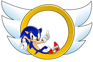 Sonic the Hedgehog by Nightstorm10SOCK