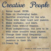 Creative People by JesseAcosta