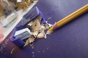 Pencil Sharpning by TheNewYoung