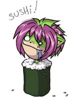 i r the sushi queen by cassandraharley