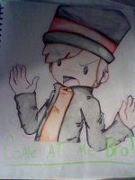 Come at me bro Layton by Rin-Anko