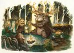 Present from the Forest King by Tangmaelon