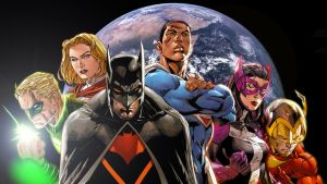 Justice Society of America (Earth 2) by Xionice