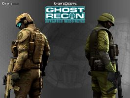 Ghost Recon by MasterChiefRaoul