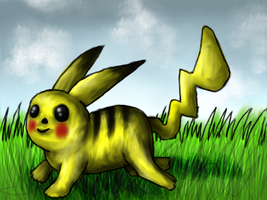 Pikachu by Link-of-the-twilight