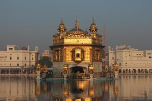 The Golden Temple at Sunset by DragonRand100