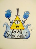 Semper Vigilant (Always Watching) by ramsoccer3792