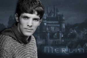 Merlin Wallpaper by PirateFairy