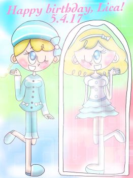 Mirror, mirror on the wall...[Pop'n Music] by the01angel