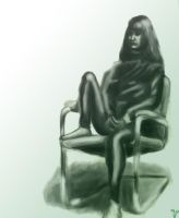 Meg and her Chair by samta