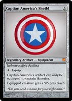 Captain America's Shield by notalonewolf20