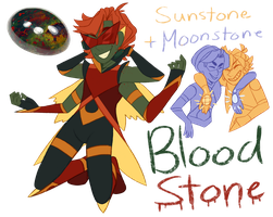 FT - (Moonstone/Sunstone) Bloodstone by TheZodiacLord