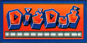 Dig Dug Arrangement alternate logo by RingoStarr39