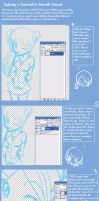 ::Smooth Lineart Tutorial:: by Ash-Felix-Forecer