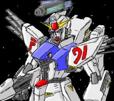 Paintchat - Gundam F-91 by GuyverC