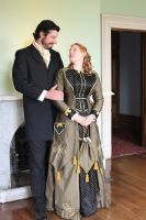 Victorian Couple 6 by Digimaree