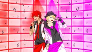 Uta no Prince-Sama - Syo and Otoya Wallpaper by ng9