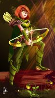 Windrunner - Dota 2 by Kroizat