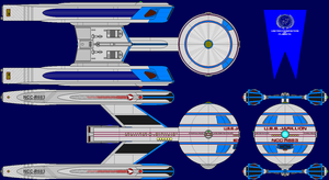 USS Jarillion Refit Multi-View by captshade