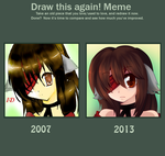 Draw This Again - 2007 to 2013 by pekou