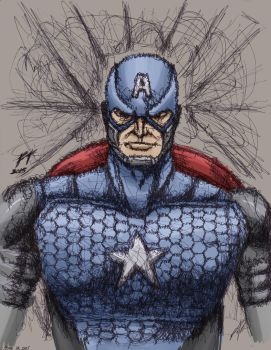 Captain America by fredierick078