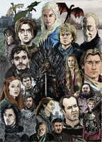 Game Of Thrones by TheBigDudester