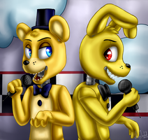 Just gold (Five Nights at Freddy's) by ArtyJoyful