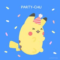 Party-Chu by pikarar
