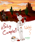 Wild West Paiting by cherrynahme