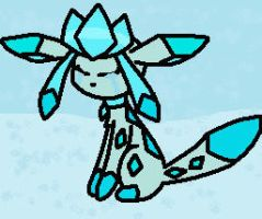 sad glaceon by sweetcookie535
