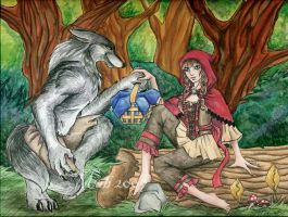 Everything A Big Bad Wolf... by Wulfemoon