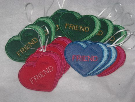 Heart Lollypop Holders by WillowForrestall