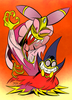Cackletta and Fawful by Themrock